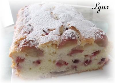 Pain-gâteau aux raisins frais et graines de pomme grenade Pain_r11