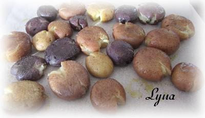 Pommes de terre écrasées à la ciboulette et au parmesan Patate18