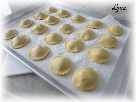 Ravioli à la courge butternut et brie Raviol15