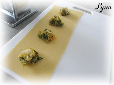 Ravioli à la courge butternut et brie Raviol16