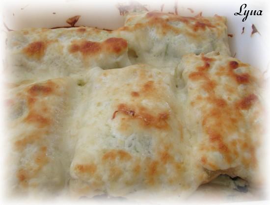 Rouleaux de lasagne au poulet Roulea10