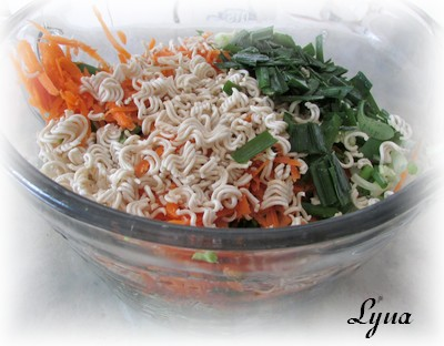 Salade de chou nappa à l'asiatique Salade26