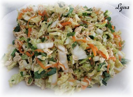 Salade de chou nappa à l'asiatique Salade27