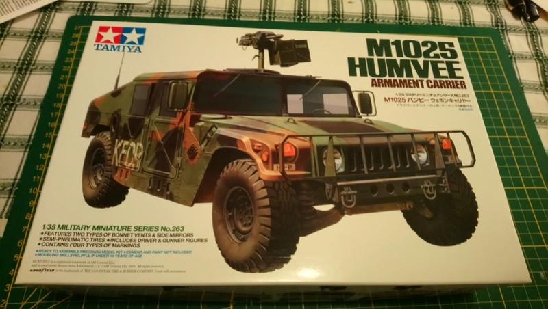 Humvee M 1025 - Tamiya 1/35 1025_310
