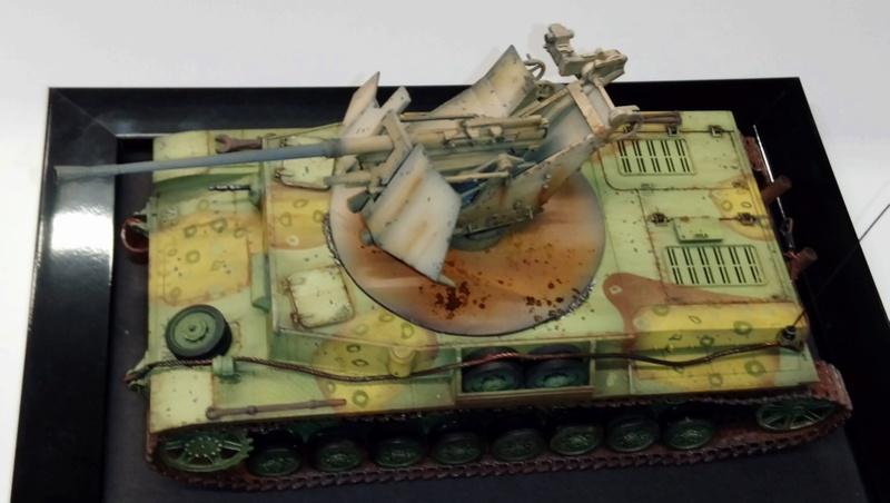 Panzer IV avec Flak - Base Dragon et Flak Trumpeter - 1/35 Dsc_0413