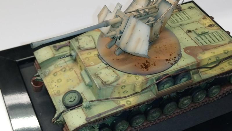 Panzer IV avec Flak - Base Dragon et Flak Trumpeter - 1/35 Dsc_0414