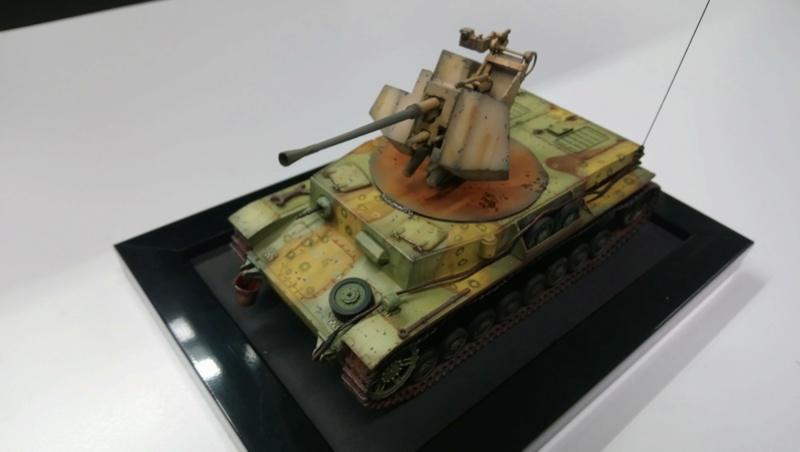 Panzer IV avec Flak - Base Dragon et Flak Trumpeter - 1/35 Dsc_0415