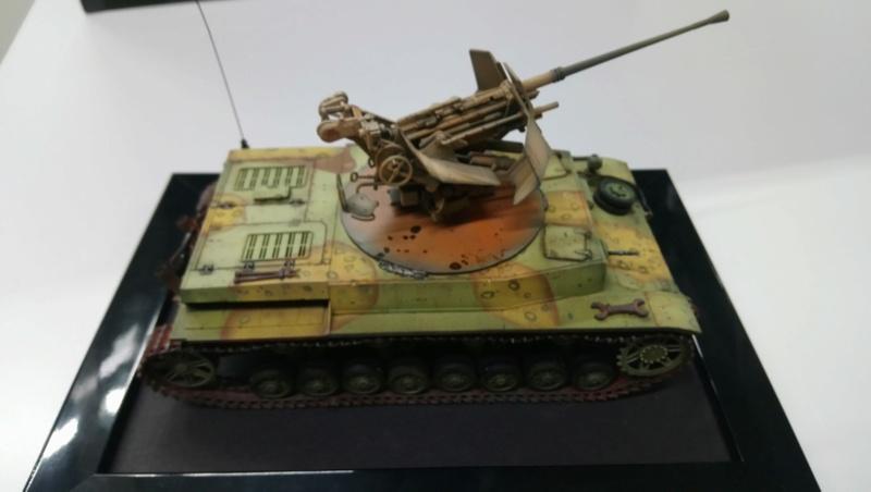 Panzer IV avec Flak - Base Dragon et Flak Trumpeter - 1/35 Dsc_0416