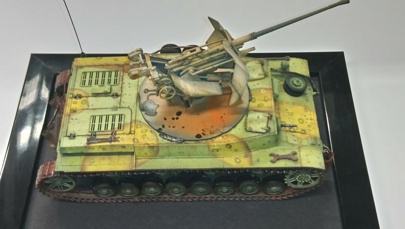 Panzer IV avec Flak - Base Dragon et Flak Trumpeter - 1/35 Dsc_0417