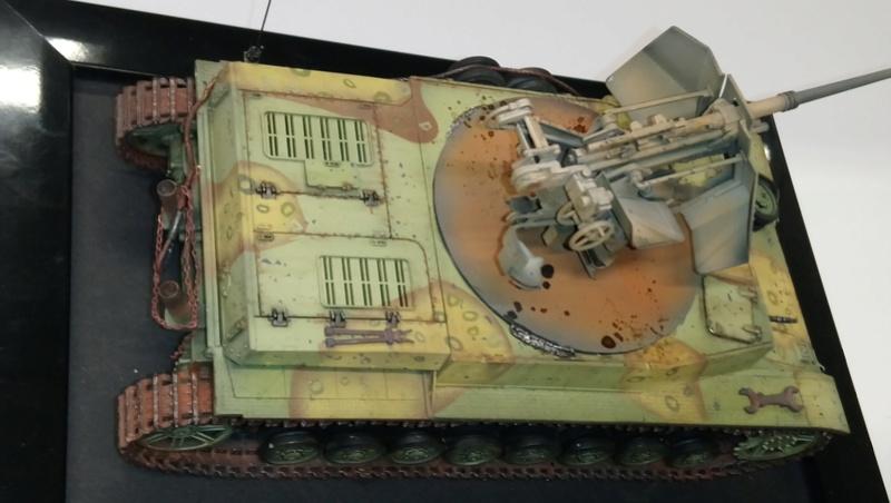 Panzer IV avec Flak - Base Dragon et Flak Trumpeter - 1/35 Dsc_0418