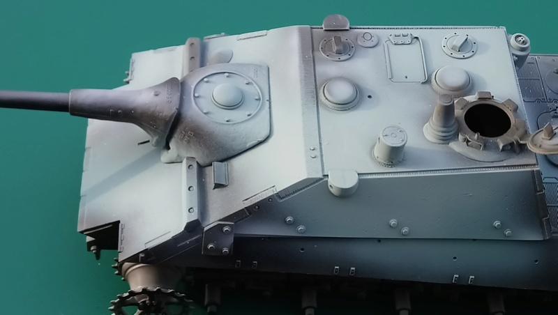 E 75 Eber - conversion Paper Panzer Production et E75 Trumpeter - 1/35 Dsc_0613