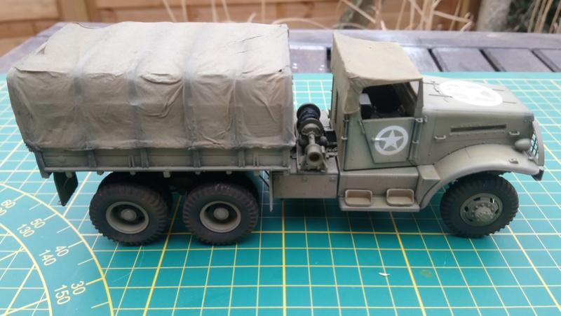 US White 666 Cargo - 1/35 Hobby Boss Dsc_0620