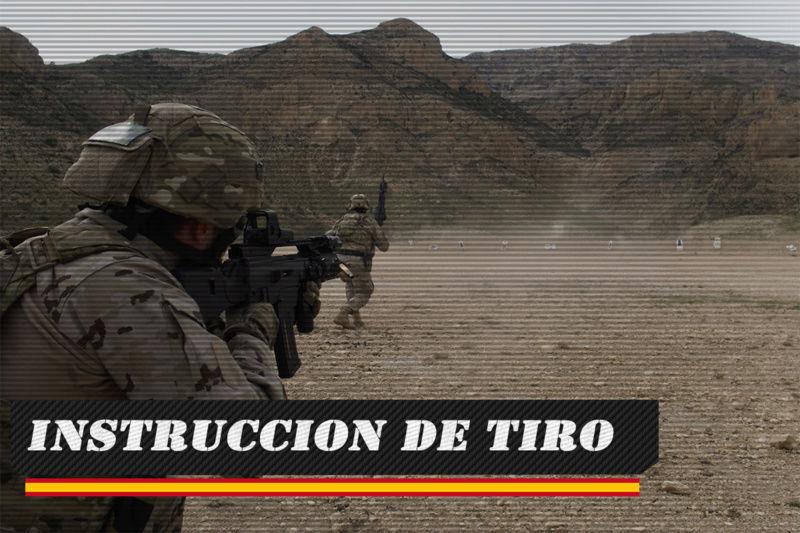 INSTRUCCION DE TIRO SABADO 06 DE OCTUBRE DE 2018 A LAS 21:00 Tiro10