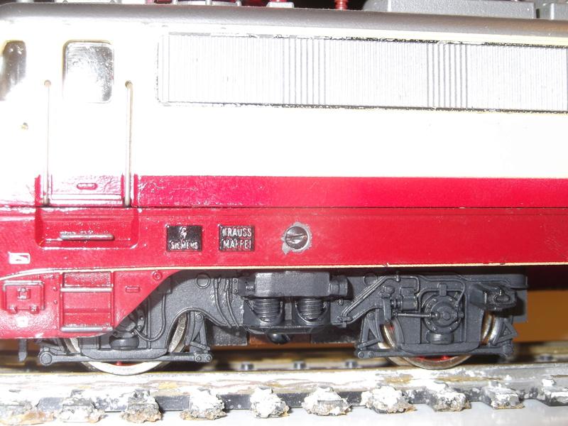 DB E 10 1312 Bügelfalte TEE (Guss) Dscf3615
