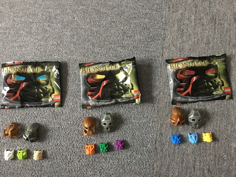 [Produits] Set de kanohi et de krana Bionicle 8559 30442910