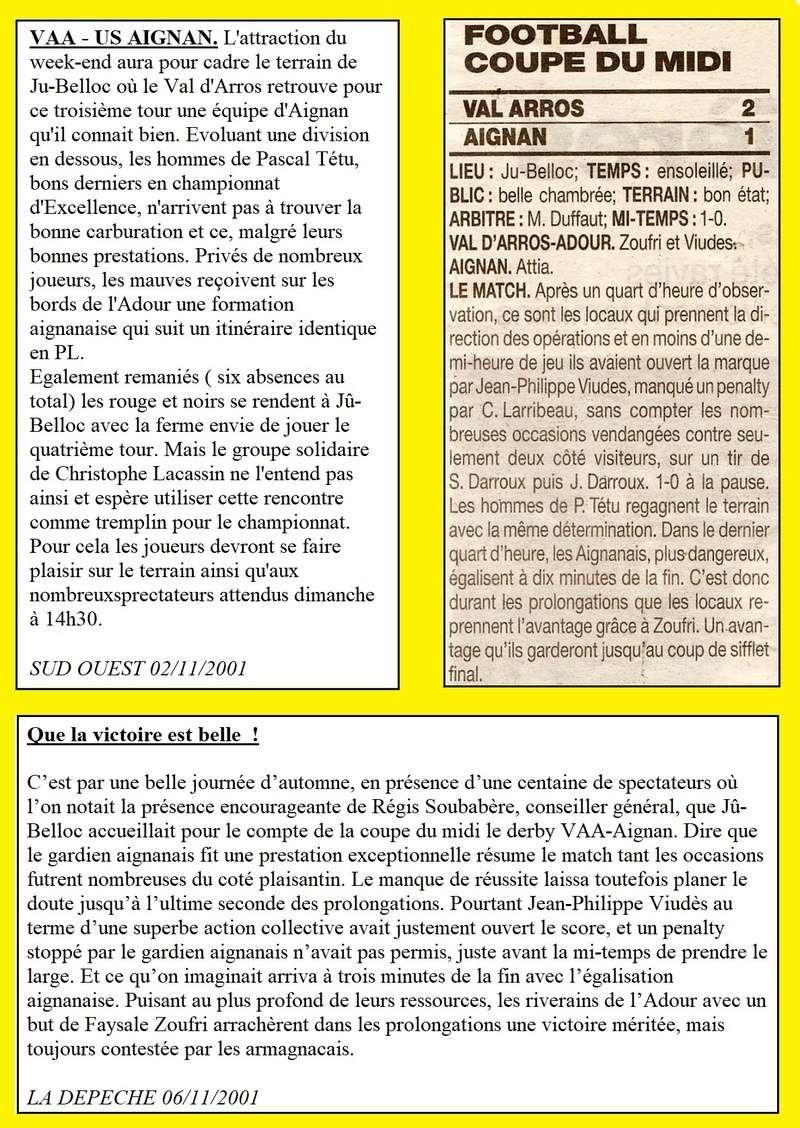 2001-2002 : RELEGATIONS ET 32èmes DE COUPE DU MIDI Collag10