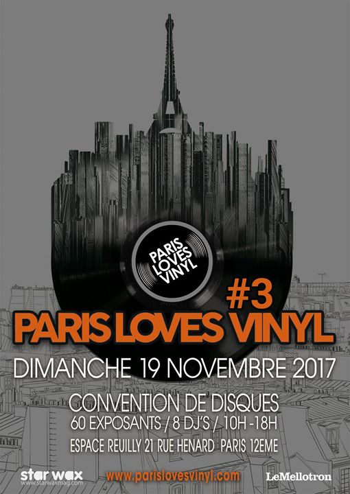 Salons et  conventions de disques Parisl11