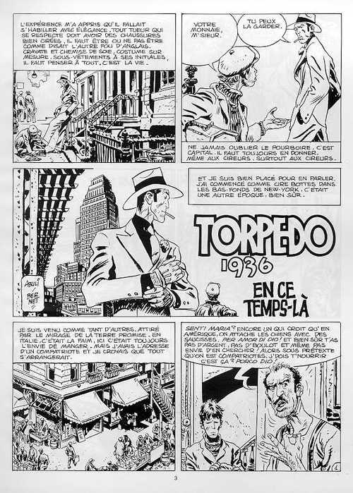 JORDI BERNET : TORPEDO, KRAKEN ... Torped12