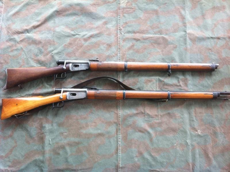Carabine (Stutzer) d'infanterie 69/71 Vetterli 02210