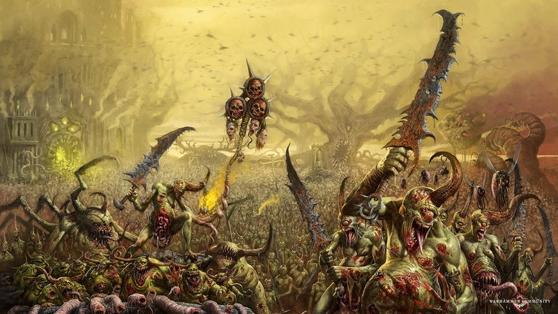 [Warhammer: Age of Sigmar] Collection d'images : Générique - Page 5 Nurgle11