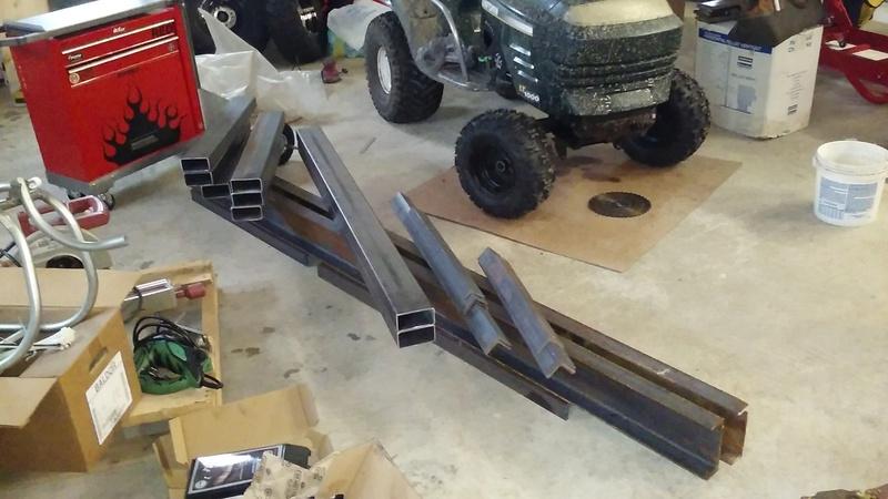 Welding Table build 20170311