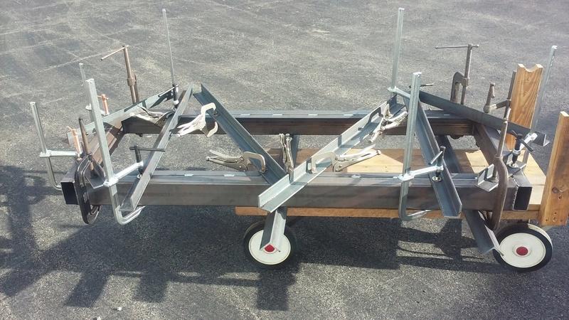 Welding Table build 20170510