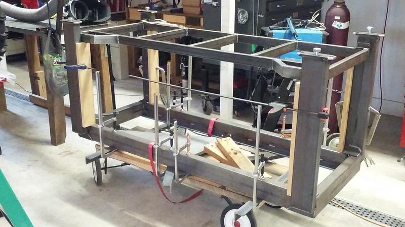 Welding Table build 20171210