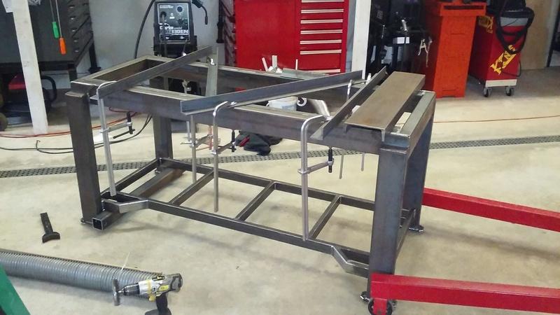 Welding Table build 20171211