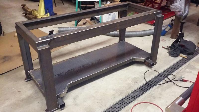 Welding Table build 20180110