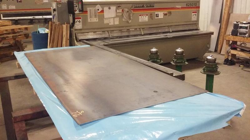 Welding Table build 20180111