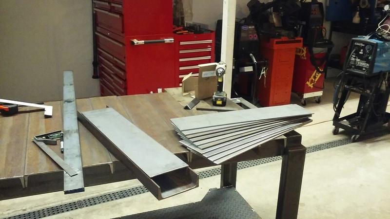 Welding Table build 20180112