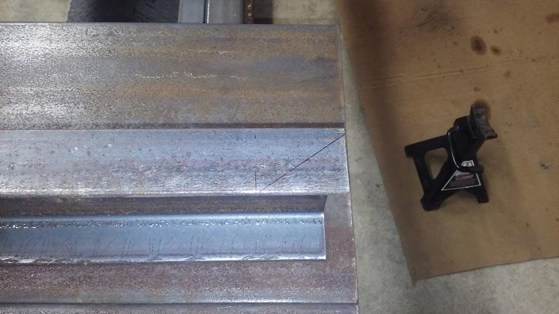 Welding Table build 20180113
