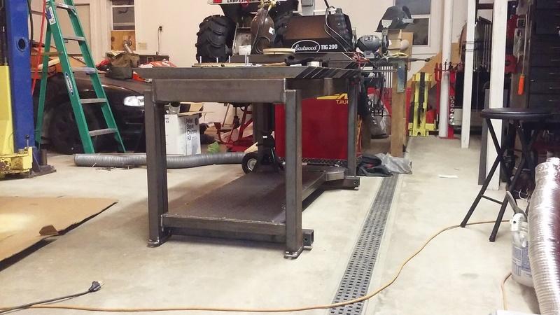 Welding Table build 20180219