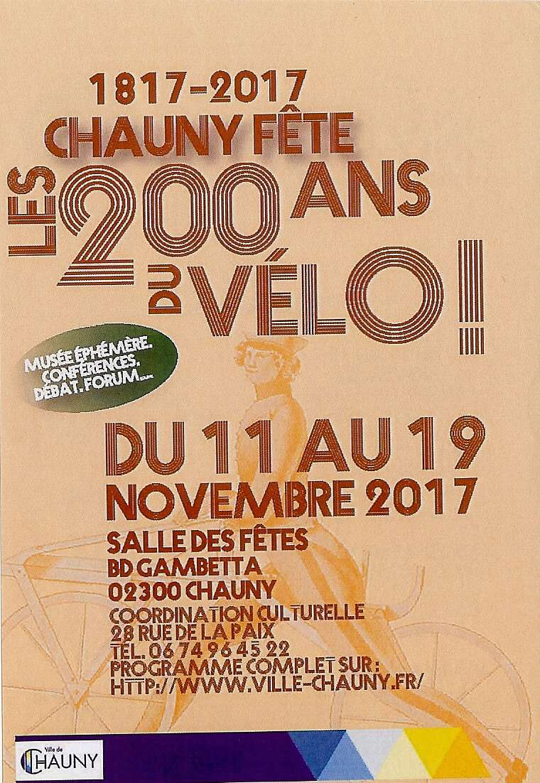 Chauny fête les 200 ans du Vélo ! Numyri11