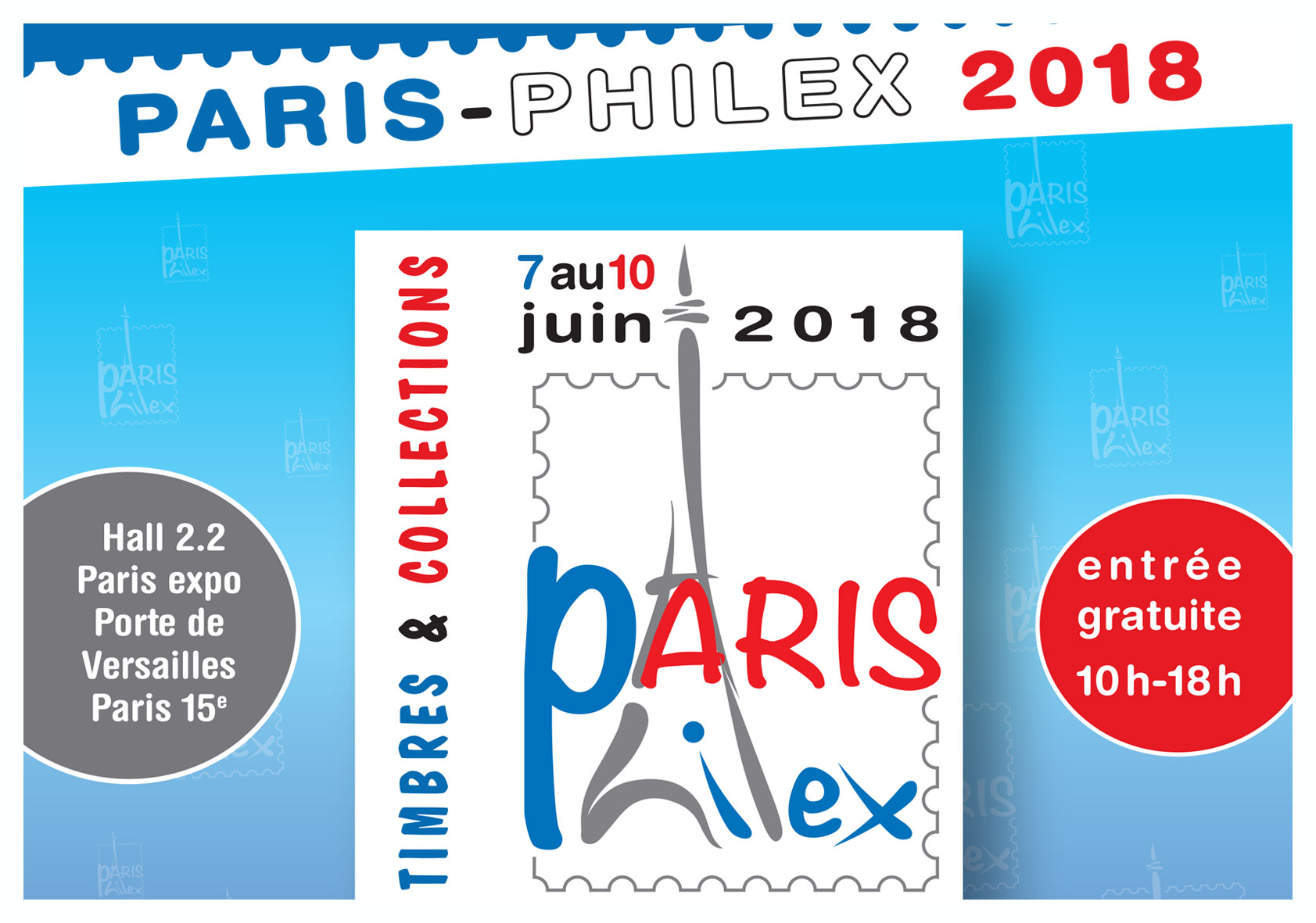 Salon Philatélique - Paris-Philex 2018 Paris-10