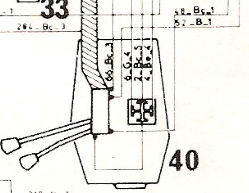 branchement comodo phare cligno Cabcom10