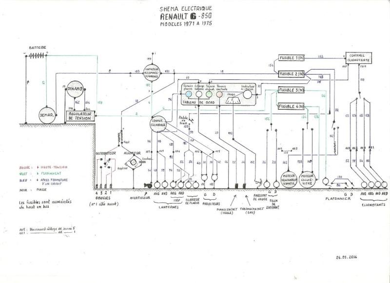 branchement comodo phare cligno R6_85010