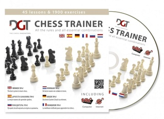 DGT Chess Trainer CD (2013) 10783-10