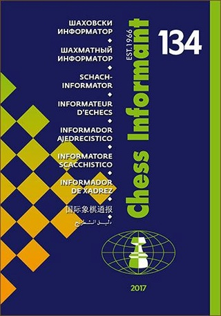 Chess Informant 134 (12-2017) - original CD 777810