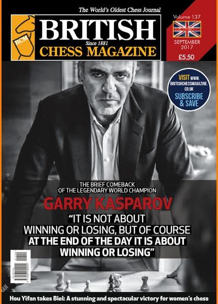 British Chess Magazine • September 2017 Bcm_2011