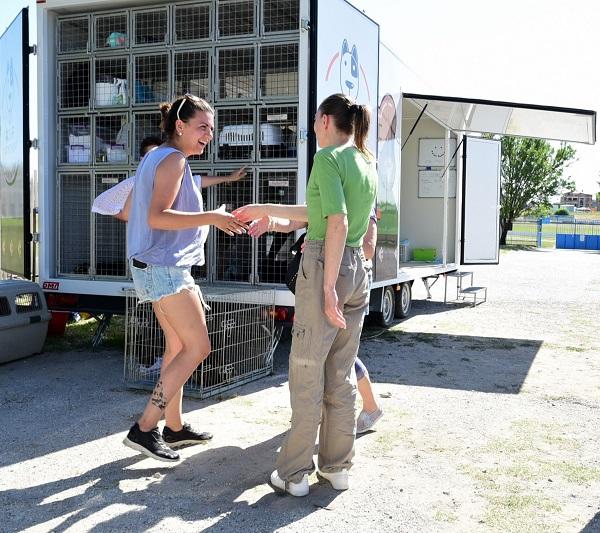 Stérilisation animaux errants à AKSAKOVO - 30 mai au 8 juin 2018 Cliniq18