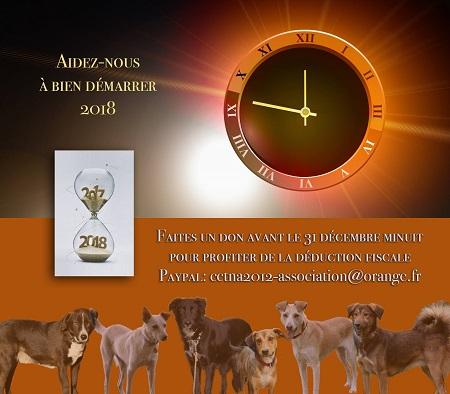 Don d'argent au profit des animaux de CCTNA Don_2011
