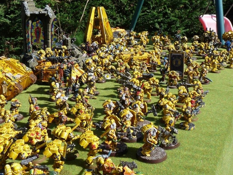 Les space marines jaunes de vlad Army2010