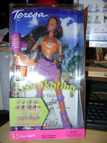 BARBIE STACIE on SKATEBOARD - FAR OUT - POSE ME PET -  COOL SKATING - GENERATION GIRL  Barbie11