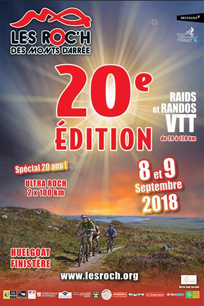 Les roc'h des monts d'arrées les 20ans  Affich10