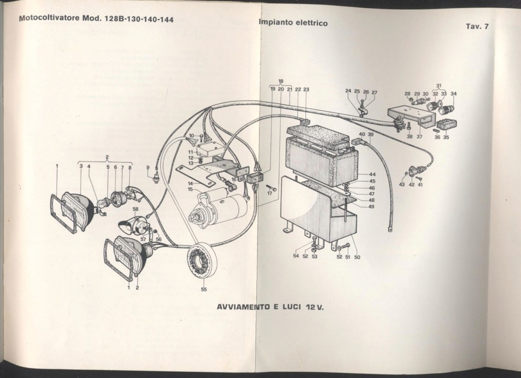 Motore Ruggerini RD 901 14 hp diesel Impian11