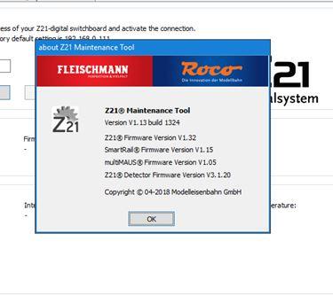 Z21 et voie de programmation Captur39