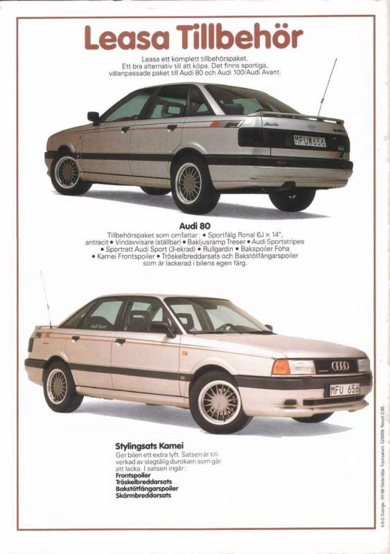 Les décos d'époque pour Audi 80 et 90 1520ka10
