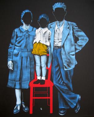 """""""The family"""": personale della pittrice Daniela Caciagli a Viareggio Daniel10"""