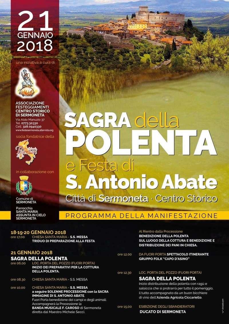 Sagra della Polenta Sermoneta (LT) Polent10